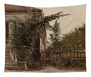 The Garden Steps Tapestry