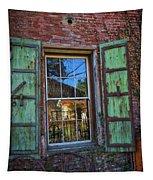 The Garden Window Tapestry