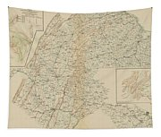 The Gettysburg Campaign - American Civil War Tapestry