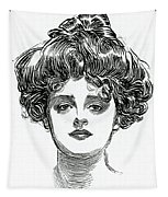The Gibson Girl Tapestry