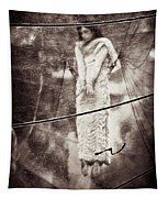 The Girl In The Bubble Tapestry