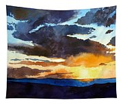 The Glory Of The Sunset Tapestry