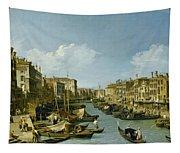 The Grand Canal Near The Rialto Bridge. Venice Tapestry