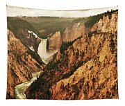 The Grand Canyon Of The Yellowstone Tapestry