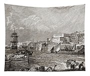 The Grand Harbour, Valetta, Malta After Tapestry