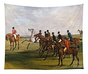 The Grand Leicestershire Steeplechase, March 12, 1829  The Start Tapestry