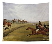 The Grand Leicestershire Steeplechase, March 12th, 1829 Tapestry
