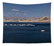 The Grand View Of Wahweap Bay Tapestry