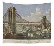 The Great East River Suspension Bridge Tapestry