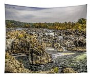 The Great Falls Of The Potomac Tapestry