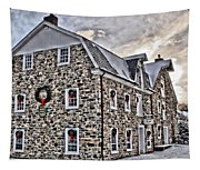 The Grist Mill And Ye Old Tavern Tapestry