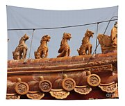 The Guardians Of The Forbidden City Tapestry