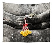 The Hand Of Buddha Tapestry