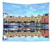 The Harbor At Galway Tapestry