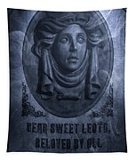 The Headstone Of Madame Leota Tapestry