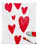 The Heart Of Love Tapestry