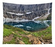 The Heart Of Many Glacier Tapestry