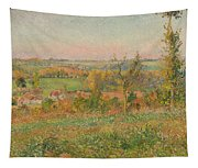 The Hills Of Thierceville Seen From The Country Lane Tapestry