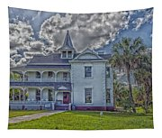 The Historic Rabb Plantation Home Tapestry