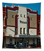 The Historic Texas Theatre Tapestry