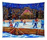 The Hockey Rink Tapestry