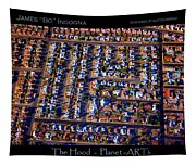 The Hood - Planet Art Tapestry