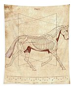 The Horse's Trot Revealed Tapestry