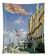 The Hotel Des Roches Noires At Trouville Tapestry