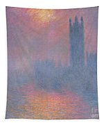 The Houses Of Parliament London Tapestry