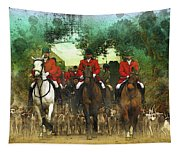The Hunt Begins Tapestry