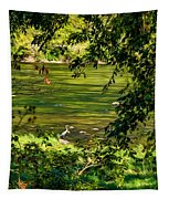 The Hunter - Paint Tapestry