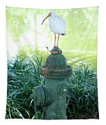 The Hydrant Bird Tapestry