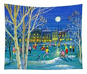 The Iceskaters Tapestry