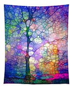 The Imagination Of Trees Tapestry