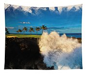 The Jack Nicklaus Signature Hualalai Golf Course Tapestry