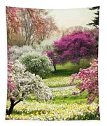 The Joy Of Spring Tapestry