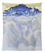 The Jung Frau Above A Sea Of Mist Tapestry