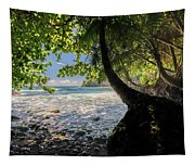 The Jungle At Onomea Bay  Tapestry