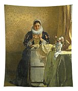 The Lace Maker  Tapestry