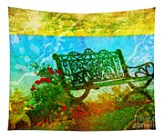 The Lakeview Bench Tapestry