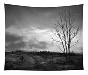 The Last Dawn - Grayscale Tapestry