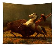 The Last Of The Buffalo Tapestry