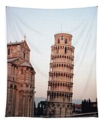 The Leaning Tower Of Pisa Tapestry