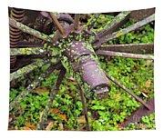 The Lichen Wheel Tapestry
