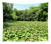 The Lily Pond #1 Tapestry