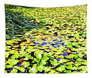 The Lily Pond #2 Tapestry