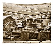 The Linc - Aerial View Tapestry