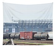 The Linc From The Other Side Of The Tracks Tapestry