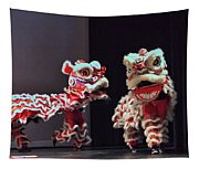 The Lion Dance Camarillo Kung Fu Club Tapestry