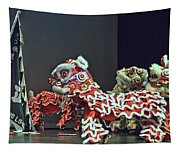 The Lion Dance Camarillo  Tapestry